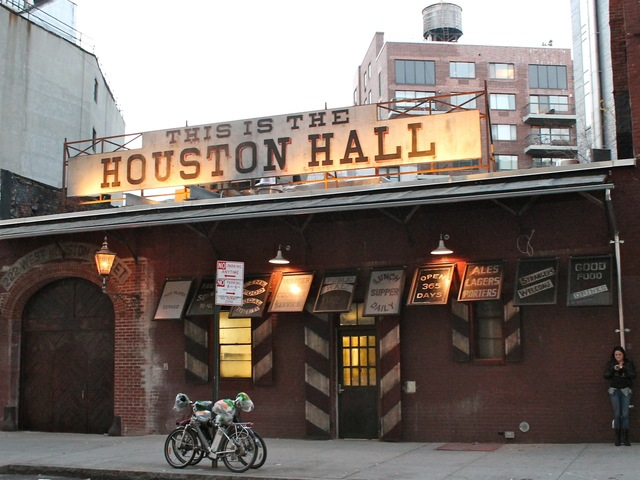 <p>The massive new beer bar Houston Hall is set to open Friday, Dec. 7, 2012, a manager said.</p>