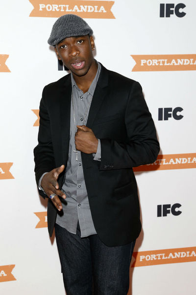 <p>Jay Pharoah at the premiere of the third season of &quot;Portlandia&quot; at the Museum of American History, Monday, December 10, 2012.</p>