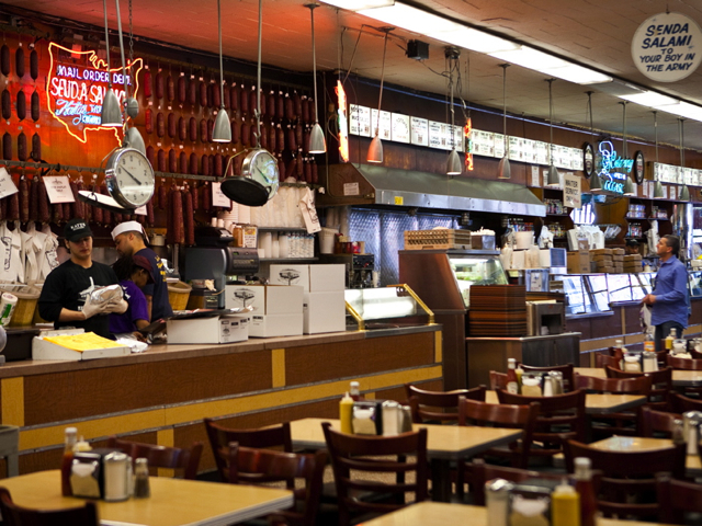 <p>Katz&#39;s Delicatessen has survived over a century in the Lower East Side.</p>