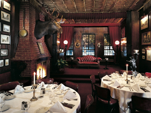 <p>The dining room at Keens Steakhouse.</p>
