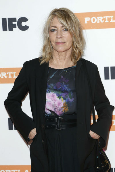 <p>Sonia Youth&#39;s Kim Gordon at the premiere of the third season of &quot;Portlandia&quot; at the Museum of American History, Monday, December 10, 2012.</p>