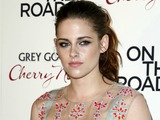 Kristen Stewart Hits Film Premiere in See-Through Dress