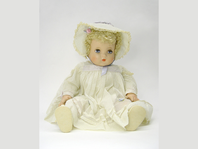 <p>The Madame Alexander&#39;s &quot;Little Genius&quot; doll from the 1940s&nbsp;is featured in the Brooklyn Children&#39;s museum collection.&nbsp;</p>