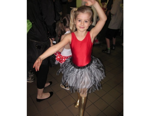 <p>Madeleine Zoe Haynes, 8, takes ballet classes at the prestigious School of American Ballet.</p>