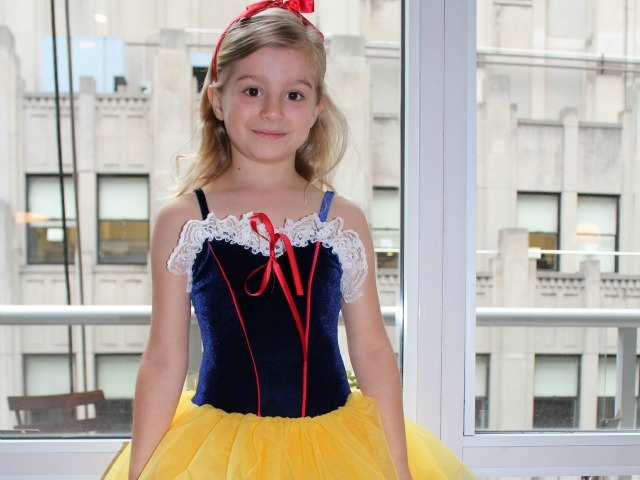 <p>Madeleine Zoe Haynes, 8, wants to play the role of Clara in &quot;The Nutcracker.&quot;</p>
