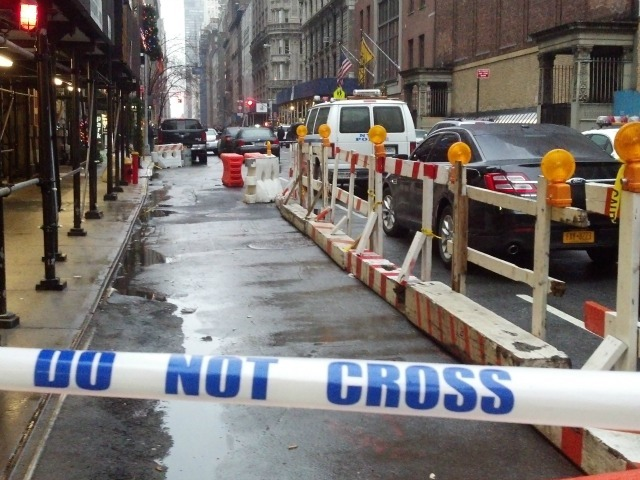 <p>A man was shot and killed by a silent gunman on West 58th Street Dec. 10, 2012.</p>