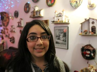 Marcela Pinos raised $3,290 in an online campaign to fund her trip to the presidential inauguration.