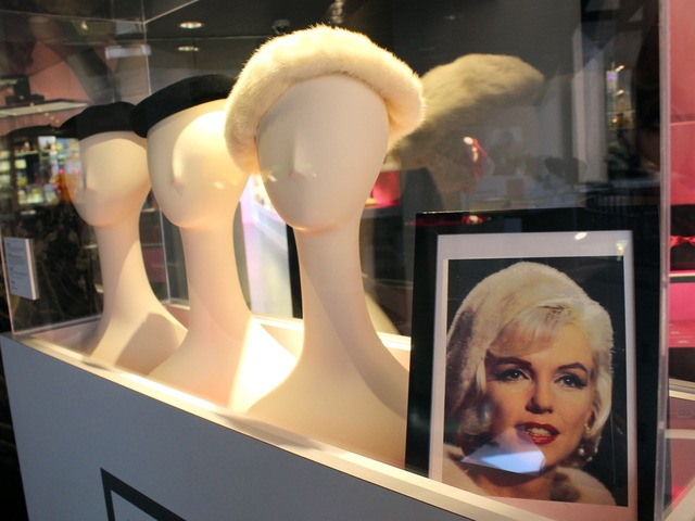 <p>These hats belonged to Marilyn Monroe.</p>