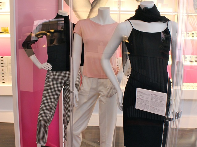 <p>Marilyn Monroe wore these items in the late 1940s and 1950s and are on display this month at the Erno Laszlo&nbsp;Institute at 382 W. Broadway in SoHo.</p>
