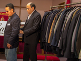 Tailor Helps Staten Island Sandy Victims Suit Up