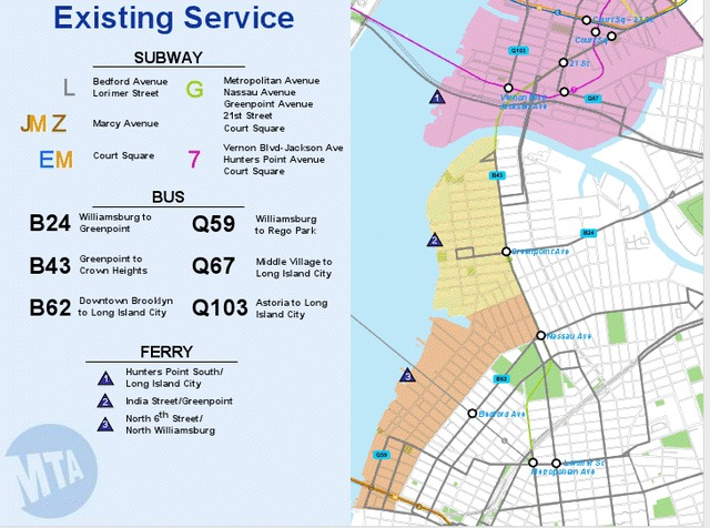 MTA Moving Forward With Plan For New Waterfront Brooklyn Bus Route on