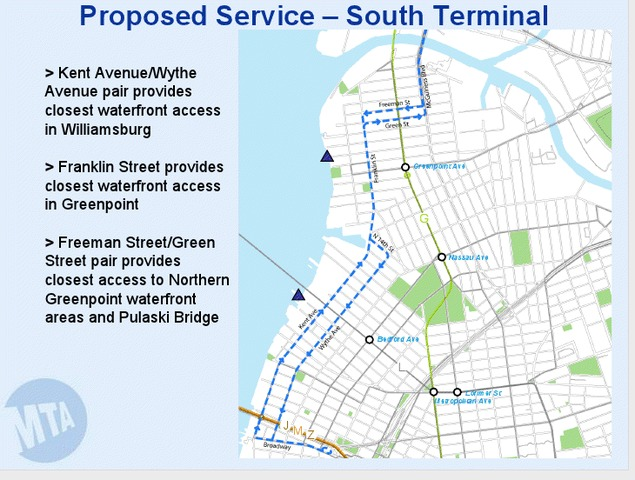 mta moving forward with plan for new waterfront brooklyn bus route
