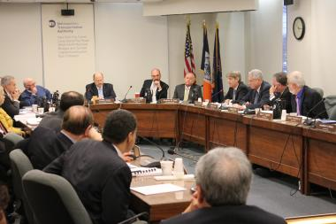 The MTA votes to raise subway and bus fares and bridge and tunnel tolls in Wed., Dec. 19, 2012.