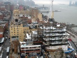 New Whitney Museum Building in the Meatpacking District Hits Full Height
