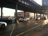 Pedestrian Struck by Van and Critically Hurt in Parkchester
