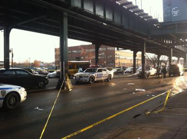 A man struck on Westchester Ave. in Parkchester was not expected to survive, FDNY officials said