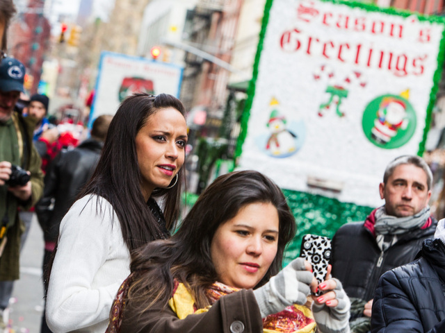 <p>People packed the Little Italy and Chinatown to watch this years annual East Meets West Parade on Dec. 22nd, 2012.</p>