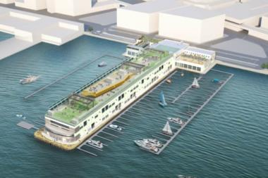 The plan would transform the pier into a retail and cultural hub.