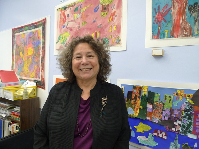 <p>Principal Liz Phillips of P.S. 321.</p>