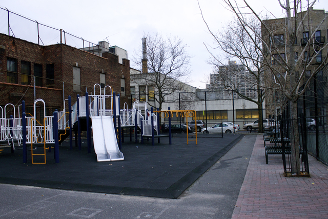 <p>The playground at P.S. 38 has caused many students to report to the nurse&#39;s office or even the hospital, parents say.</p>
