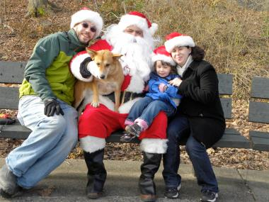 Saint Nick will pose for photos with dogs and families near Homer's Run on Dec. 8.