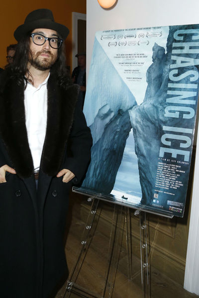 <p>Sean Lennon at a screening for &#39;Chasing Ice&#39; at the Cosby Hotel, Wednesday, December 19, 2012.&nbsp;</p>