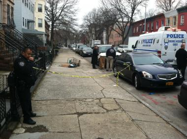 A man's body was found on a neighborhood sidewalk early Sunday morning, December 2, 2012.