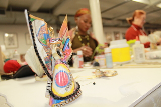 <p>The mostly women artisans and their apprentices at SoHarlem&nbsp; produce everything from furniture to quilts to jewelry and perfume. It may be Harlem&#39;s best kept secret.</p>