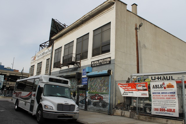 <p>The planned future site of Space NY, on West&nbsp;50th&nbsp;Street near&nbsp;12th&nbsp;Avenue.</p>