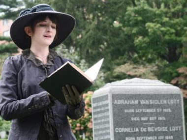 Maple Grove Cemetery in Kew Gardens will host a Victorian mock wedding in May.