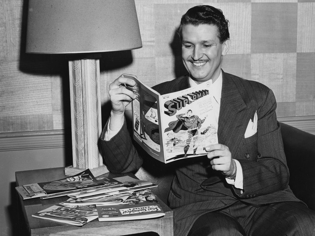 <p>Bud Collyer was the voice of Superman for 2,008 radio shows, and across 30 years in various media.&nbsp;</p>