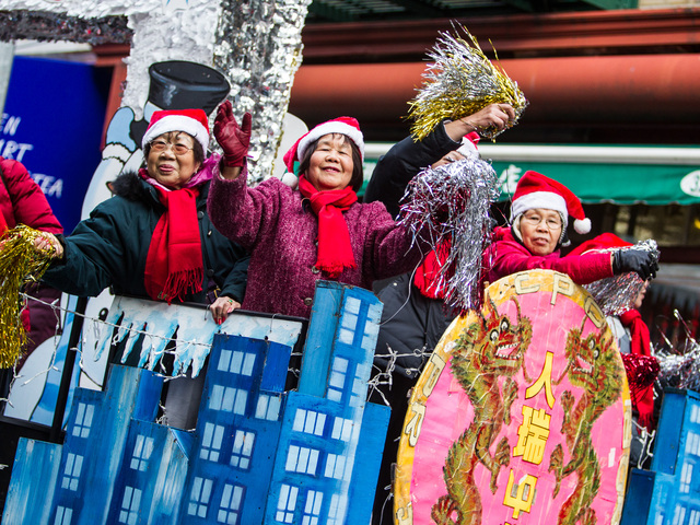 <p>This years East Meets West Parade takes place in Chinatown &amp; Little Italy on Dec. 22nd, 2012.</p>