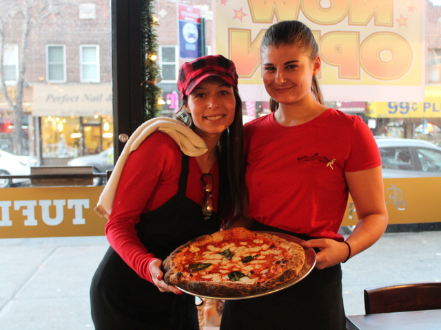 <p>Tufino Pizzeria Napoletana opened at 36-08 Ditmars Blvd on Tuesday, Dec. 18, 2012. The eatery serves Neapolitan-style pizza cooked in a wood-fired oven.</p>