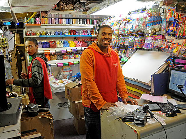 <p>Workers at Donna Schofield&#39;s Upper West Side toy and stationery store help with a toy drive for Staten Island children impacted by Hurricane Sandy.</p>