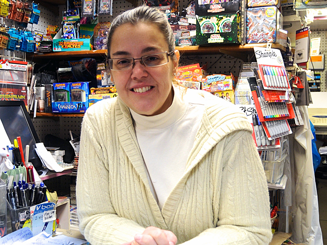 <p>Upper West Side toy store owner Donna Shofield, who lost her Staten Island home and warehouses during Hurricane Sandy, held a toy drive for children impacted by the storm.</p>