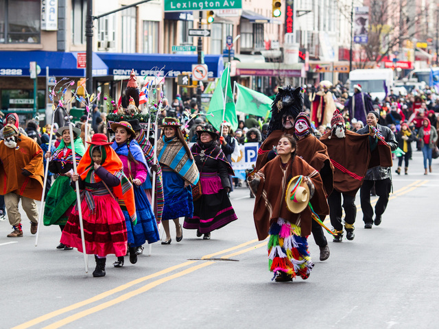 <p>The 36th Annual Three Kings Day Parade takes place in East Harlem on Jan. 4, 2013.</p>