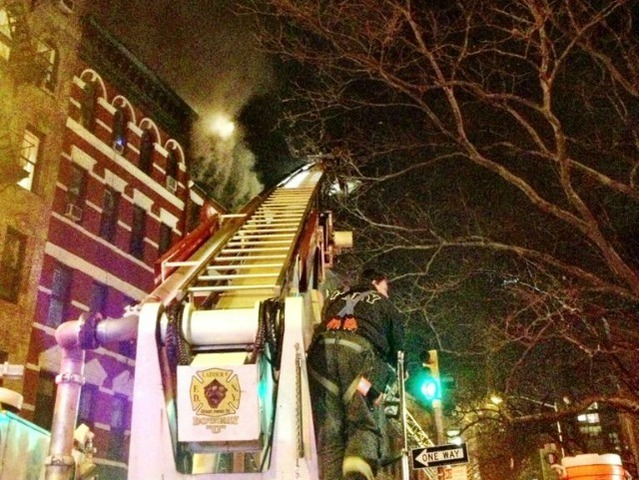 <p>A fire broke out at 41 Spring St. Jan. 10, 2013.</p>