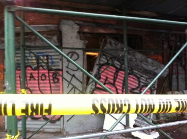Authorities have long been concerned about 502 Canal St.'s deteriorating exterior.