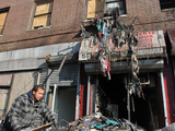 Massive Fire Displaces Families From Amsterdam Ave. Apartment Building