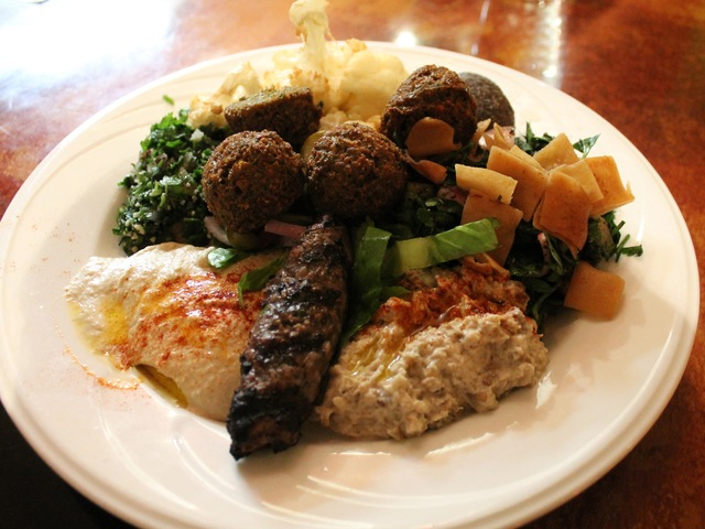 <p>Hummus, falafel, tabouleh, babaganoush and fattoush are among the most popular appetizers at Wafa&#39;s Restaurant.</p>