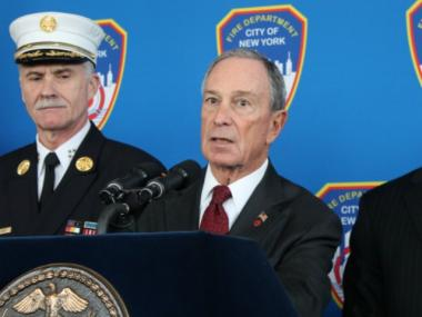 Mayor Michael Bloomberg said Wednesday he was confident the Superstorm Sandy federal aid package would pass later this month.
