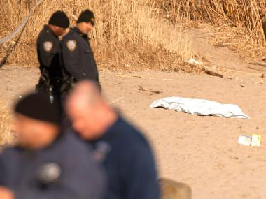 The body of a woman was found near Gerritsen Beach on Jan. 6, 2013.