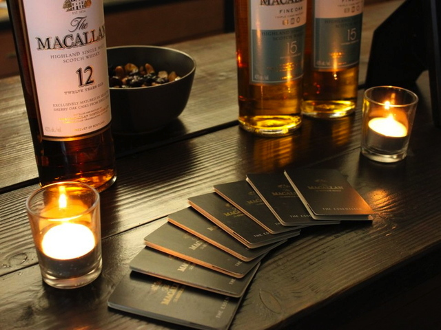 <p>Bower Hill Society&#39;s first event included tastings of Macallan Fine Oak and Sherry Oak.</p>