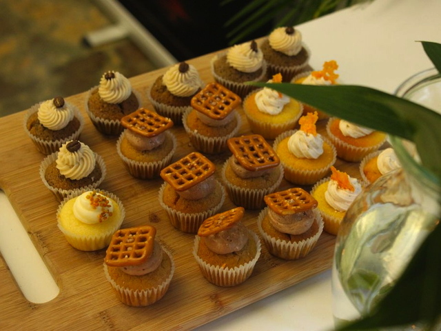 <p>Alcoholic cupcakes from Prohibition Bakery.</p>