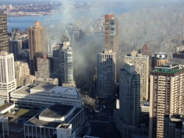 <p>A fire broke out inside of Ollie&#39;s Noodle Shop and Grille, 1991 Broadway, about 9:45 a.m. Thursday January 3, 2013, the FDNY said.</p>