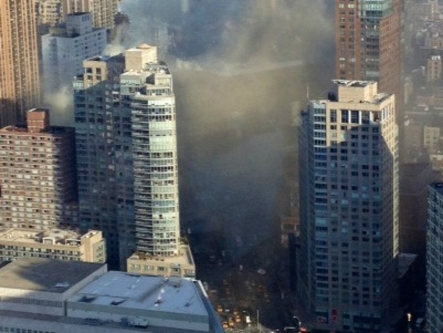 <p>A fire broke out within Ollie&#39;s Noodle Shop and Grille, 1991 Broadway, about 9:45 a.m. Thursday January 3, 2013, the FDNY said.</p>