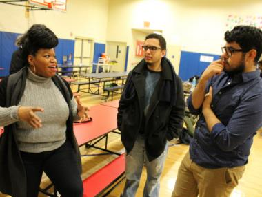 About 125 programmers, designers, entrepreneurs and investors attended the Hunts Point event on Wednesday, Jan. 16, 2013.