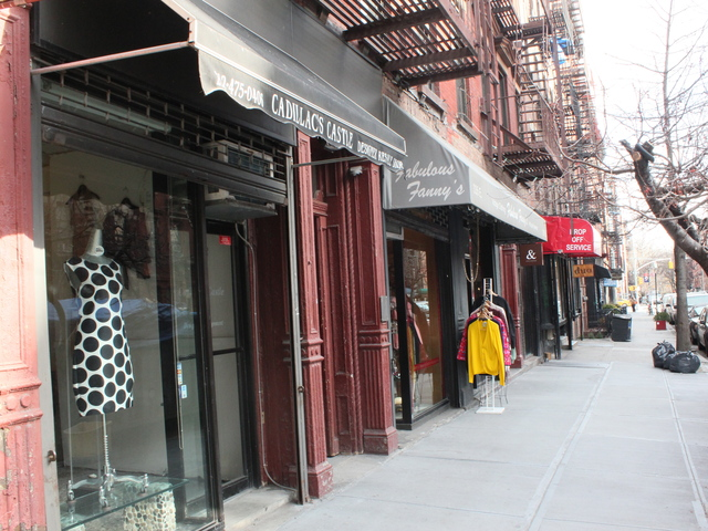 <p>Cadillac&#39;s Castle on East Ninth Street sells modern, used clothing from high-end labels such as Chanel and Prada.</p>
