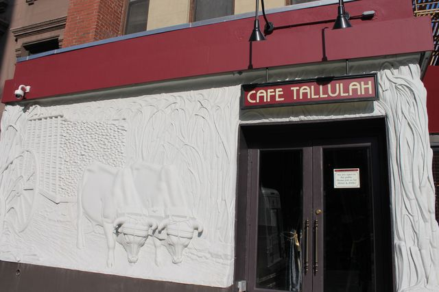 <p>Cafe Tallulah&#39;s owners refurbished a mural which dates back to the 1970s and was the subject of debate between preservationists and the restaurant, which originally wanted to take it down.</p>