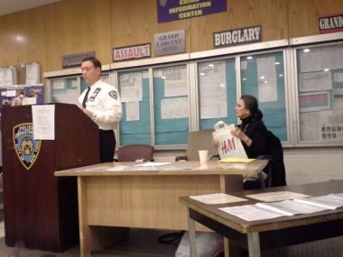 Capt. Ted Berntsen, 19th Precinct commanding officer, told attendees at Jan. 7, 2013's Community Council meeting that identity theft is a big problem.